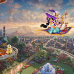 "Aladdin (Studio release) Limited edition or wrap Limited sizes 12x18"" 18x27"" 24x36"""