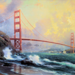 "Golden Gate Bridge - 12x18""   £329"