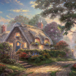 """Lovelight Cottage Limited edition Sizes 12x16"""" 18x24"""""""