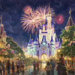 "Main Street USA Disney World Limited edition (studio) Sizes 18x27"" 24x36"" 28x42"""