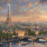 "Paris, City of Love Limited edition Sizes 18x27"" 24x36"""