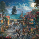 """Pirates of the Caribbean Limited edition (Studio) Sizes 12x18"""" 18x27"""" 24x36"""""""