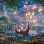 "Tangled (Studio release) Limited edition Sizes 12x18""  18x27""  24x36"""