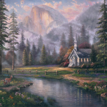 "Valley Chapel Limited edition Sizes 12x16"" 18x24"" 25x34"""