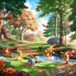 """Winnie the Pooh (Studio release) Limited edition Sizes 16x20""""  24x30"""""""