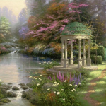 "Garden of Prayer 18x24"" - Was £1,780 NOW £800 & 25x34"" - Was £2,480 NOW £1,000"
