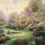 "Gardens Beyond Spring Gate RE 25x34"" - Was £3,995 NOW £1,500"