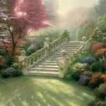 "Stairway to Paradise 18x24"" - Was £1,480 NOW £750 & 25x34"" - Was £1,980 NOW £900"