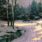"Winter Glen 24x36"" - Was £1,795 NOW £750"