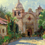 "Carmel Mission Sizes 16x12"" 20x16"""