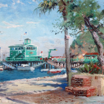 """Catalina Rosie's on the Pier Size 12x16"""""""