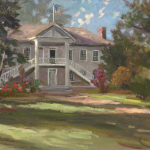 "Colton Hall, Monterey Sizes 12x16"" 18x24"""
