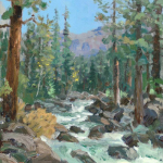 High Country River Size 12x9""