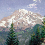 "Mount Rainier Sizes 12x16"" 16x20"""