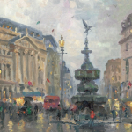 """Piccadilly Circus Sizes 9x12"""" 12x16"""""""