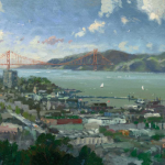 "San Francisco, View from Coit Tower Sizes 12x16"" 16x20"""