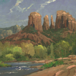 "Sedona Cliffs Sizes 18x24"" 25x34"""