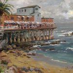 "View From Cannery Row, Monterey Sizes 9x12"" 12x16"""
