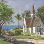 "Wailea Chapel Sizes 18x24"" 25x34"""
